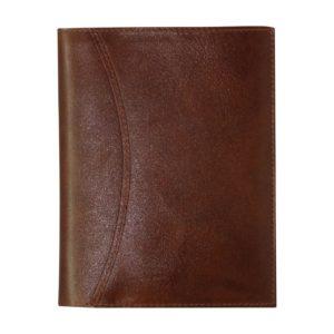 Karavan kalenderplånbok brunt skinn