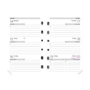 Compact kalendersats